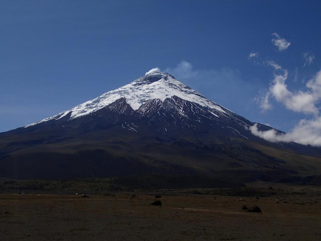 Billede af Cotopaxi vulkanen