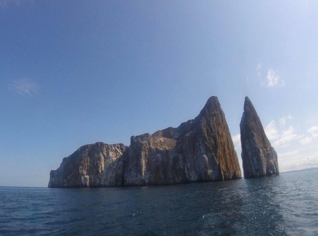Billede af Kicker Rock på Galapagos