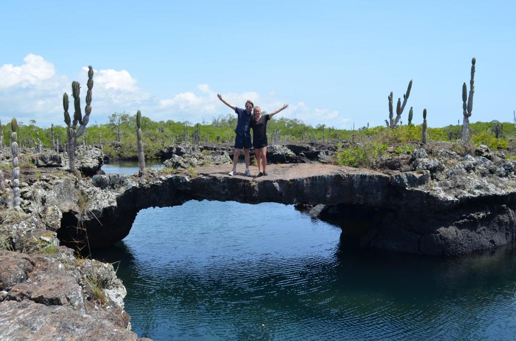 Billede af Cabo Rosa Tunnellerne - en del af Galapagos Adventure turen